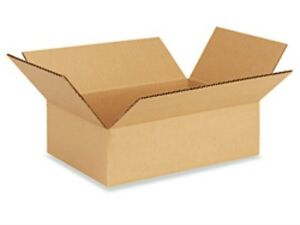 8 X 6 X 2 Corrugated Boxes Lot Of 1200 Boxes Free Shipping