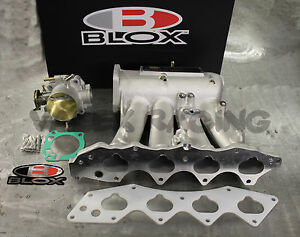 Blox Intake Manifold 70mm Tuner Throttle Body Integra 94 01 Gsr B18c1 Dc2