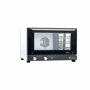 Cadco Unox Lisa Manual Small Convection Oven Xaf 013 120v 3 Shelf New In Box