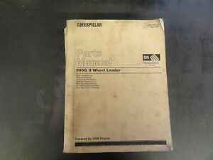 Caterpillar 980g Ii Wheel Loader Parts Manual Awh Sebp3095 12