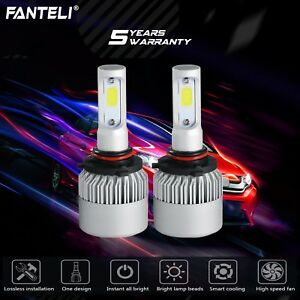 9006 Hb4 1500w 225000lm Led Headlight Kit Low Beam Bulbs 6000k White High Power