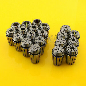 20pcs Er20 Spring Collet Chuck Tool Set Cnc 1mm 13mm 1 5mm 7 5mm