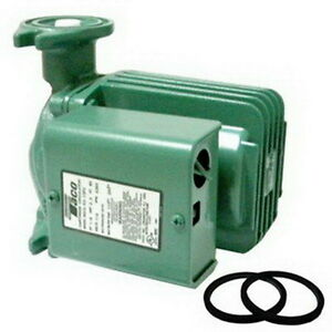 Taco 0013 f3 1 Ifc Iron Cartridge Circulator With Flow Check And Without Flanges