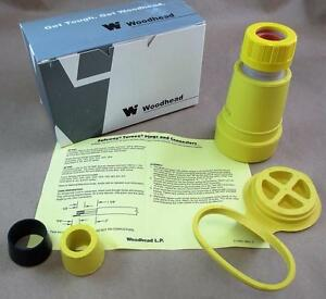 Woodhead 29w74 Watertite Connector Neotex Yellow Rubber 1301470102