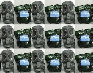 10x Scott M95 Respirator Gas Mask Swat Military Police Prepper New Filter