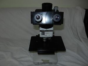 Leitz Laborlux 12 Me Microscope W 4 Objectives