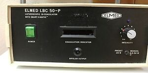 Elmed Lbc 50 Laparoscopic Bi coagulator With Footswitch On Sale Reduced