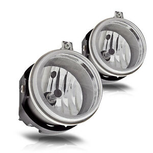 07 09 Jeep Patriot Fog Lights Front Driving Lamps Replacements