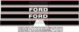 Ford Tractor Hood Decal Set Model 2910
