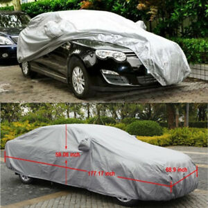 M Size Universal Uv Outdoor Full Car Auto Cover Waterproof