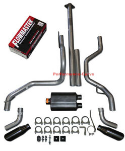 15 18 Ford F150 F150 Dual Exhaust Kit W Flowmaster Super 44