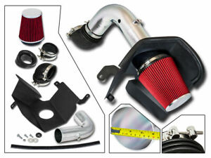Bcp Red 03 07 Dodge Ram 2500 3500 5 9 L6 Diesel Heat Shield Cold Air Intake Kit