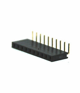 200pc Pin Female Header Pitch 2 54mm H 8 5mm Right Angle 90 1x15p 1x15 15p Rohs