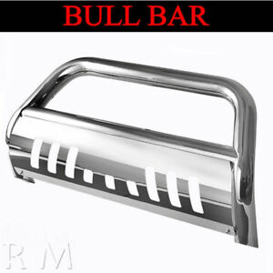 Chrome Bull Bar For 2006 2008 Dodge Ram 1500 Mega Cab Front Grille Guard Bumper