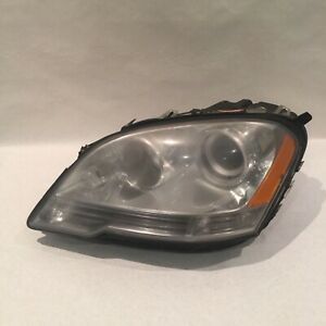 Mercedes Benz Ml350 Headlight Left Side Ml450 2009 2010 2011 Regular Halogen Oem