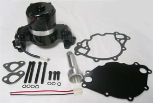 Small Block Ford Electric Water Pump High Volume Black 289 302 351w Sbf W plate