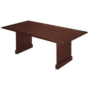 Flexsteel Governors 6 Conference Table In Mahogany
