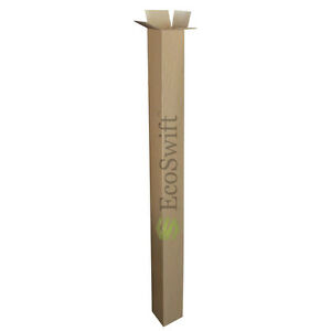 30 4x4x48 Cardboard Packing Mailing Tall Long Shipping Corrugated Box Cartons