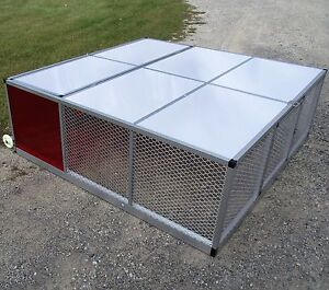 Medium Rite Farm Product Lifetime Series Mobile Broiler Pen Coop Poultry Chicken