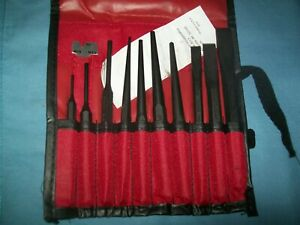 New Snap On Ppc710bk 11 Piece Punch And Chisel Set In Bag Unused
