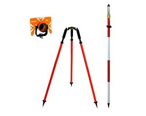 Cst Optima Prism With 12ft Prism Pole And Prism Pole Tripod Package