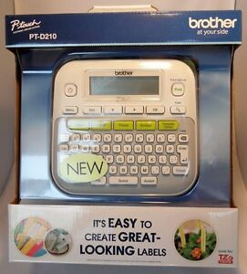 Brother P touch Pt d210 Label Maker Labeler