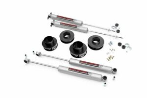 Rough Country 2 Lift Kit Fits 99 04 Jeep Grand Cherokee Wj 4wd N3 Shocks