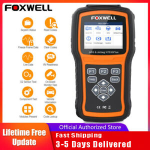 Foxwell Automotive Abs Srs Reset Scanner Obdii Code Reader Diagnostic Scan Tools