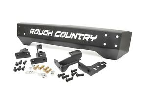 Rough Country Stubby Front Bumper 1987 2006 Jeep Yj tj Wrangler 1011