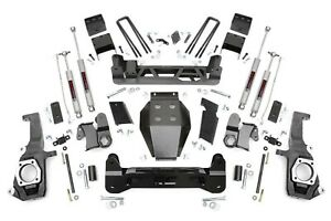 Rough Country 7 5 Ntd Lift Kit For 11 19 2wd 4wd Chevy gmc 2500hd 3500hd 25330