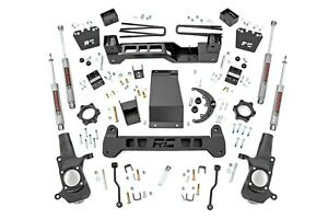 Rough Country 6 Lift Kit W n3 Shocks For 2001 2010 4wd Chevy gmc 2500hd 29730a