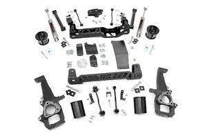 Rough Country 6 Lift Kit W perf2 2 Shocks 09 11 4wd Dodge Ram 1500 Pickup 329s
