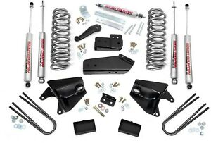 Rough Country 4 Lift Kit W Free Steering Stabilizer 80 96 4wd Ford F 150 465 20