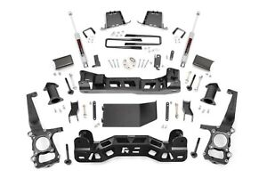 Rough Country 6 Lift Kit W N3 Shocks 2011 2013 Ford 4wd F150 558s
