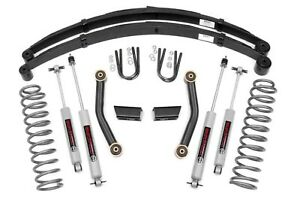 Rough Country 3 Series Ii Lift Kit W rear Springs 84 01 Jeep Xj Cherokee 630xn2