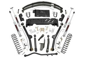 Rough Country 4 5 Long Arm Kit Fits 84 86 Jeep Xj Cherokee 2 8l Np242 60122