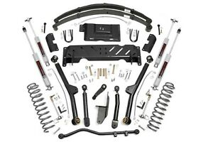 4 5 X series Long Arm Lift Kit 84 01 Jeep Xj Cherokee 2 5 4 0
