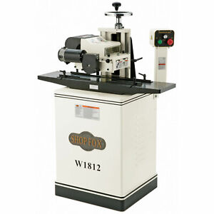 Shop Fox W1812 2hp 220v Single phase Tefc Planer With Stand