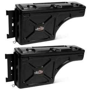 Undercover Sc203d sc203p Set Of 2 Truck Bed Storage Boxes For Ford F 150