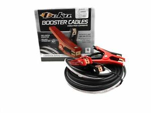 Deka Jumper Booster Cable 4 Ga 16 Ft 100 Copper Tangle Free 00170 Usa Made