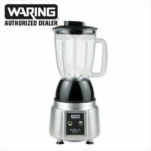 Waring Bb190 Commercial Bar Drink Blender Silver 1 Year Warranty Blowout Price