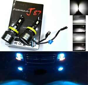 Led Kit G5 80w H11b 10000k Blue Two Bulbs Head Light Low Beam Replacement Lamp