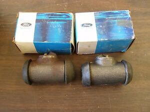 Nos Oem Ford 1963 1973 Mustang Fairlane Wheel Cylinders Front Brakes 1971 1972
