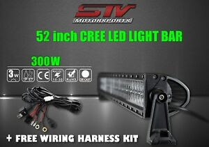 52 Inch Led Light Bar Off Road Lights Performance Free Wiring