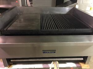 U s Range 36 Gas Griddle broiler Combo