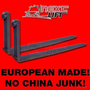 New Class Ii 2 96 Forks 1 3 4 X 5 X 96 Cl2 Pair 8ft Set Forklift Free Freight