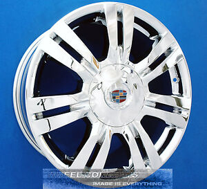 Cadillac Srx 18 Inch Chrome Wheel Exchange 4664 4665 18 Rims