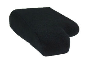 Fit 00 06 Ford Ranger Black Fabric Center Console Armrest W cup Holder Protector