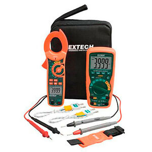 Extech Ma620k Industrial Dmm clamp Meter Test Kit