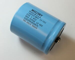 180000uf 10vdc Mallory Large Can Electrolytic Capacitor Cgs184u010x3l
